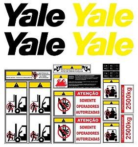 Kit De Adesivos Para Empilhadeiras Yale 18AK