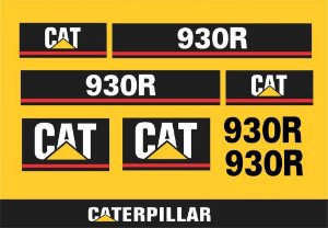 Kit de Adesivos CATERPILLAR 930R