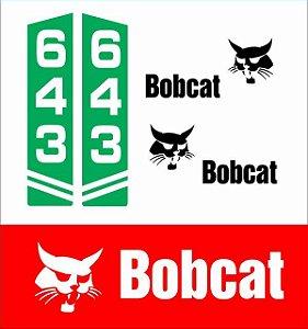 Kit Adesivo Bobcat 643
