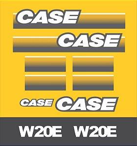 Kit Adesivo CASE W20E