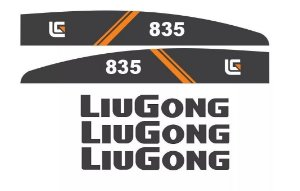 Kit Adesivo LiuGong 835