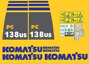KIT ADESIVO KOMATSU PC 138US