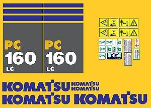 KIT ADESIVO KOMATSU PC 160LC