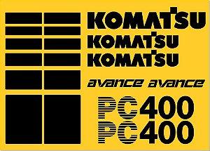 KIT ADESIVO KOMATSU PC 300LC