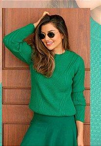 Blusa Tricot Jasmin Verde