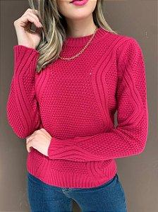 Blusa Tricô Jasmin Pink