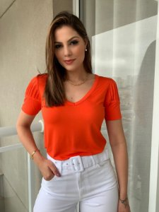 T-shirt Renata Laranja
