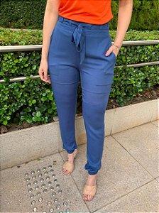 Calça Comfort Raquel Azul