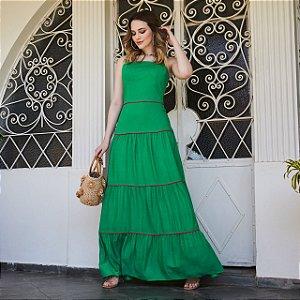 Vestido Longo Juliette Verde