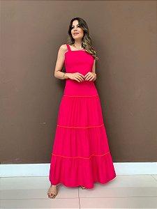 Vestido Longo Juliette Pink