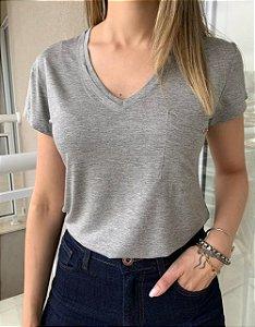T-shirt Sabrina Cinza