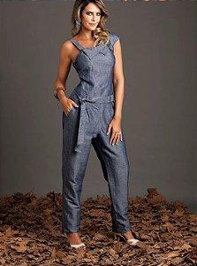 Macacão Blue Jeans Angela