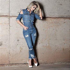 Macacão Boyfriend Jeans Isabelle