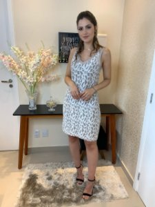 Vestido Renda Liane
