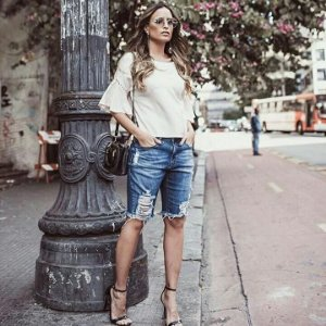 Bermuda Jeans Mayumi