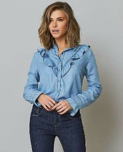 Camisa Jeans Samia
