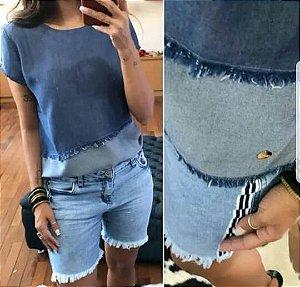 Bermuda Jeans Listras Francine