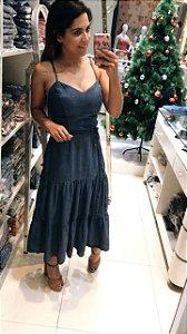 Vestido Jeans Midi Estela