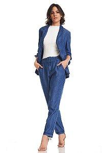 Calça Alfaiataria Jeans Benedita