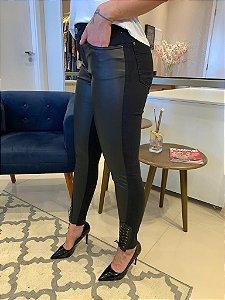 Calça Skinny Couro Ecológico Ingrid