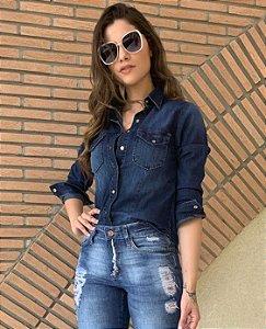 Camisa Jeans Manoela