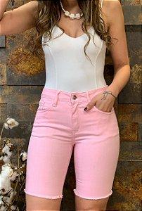 Bermuda Jeans Color Duda
