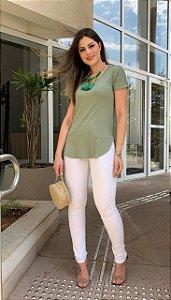 Calça Skinny Branca Joana