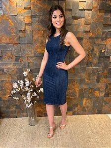 Vestido Jeans Midi Mariana