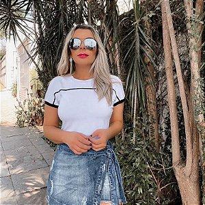 T-shirt Lindsay Branca