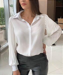 Camisa Manga Bufante Suzi