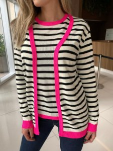 Conjunto Cardigan Pink