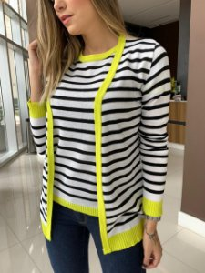 Conjunto Cardigan Yellow