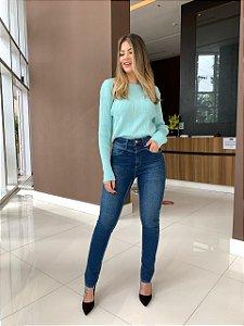 Blusa Tricô Mariana Verde Menta