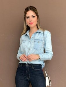 Camisa Jeans Carla