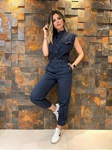 Macacão Jeans Fábia