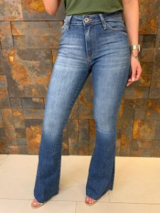Calça Flare Jeans Camile