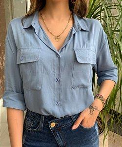 Camisa Milene Azul