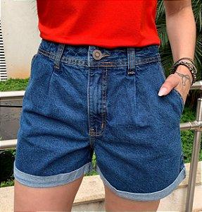 Shorts Jeans Patrícia Escuro