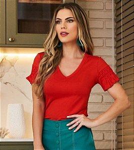T-shirt Dora Vermelha