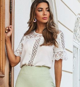 Blusa Renda Juliana