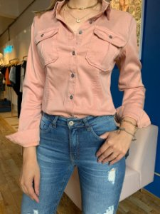 Camisa Jeans Color Gisele