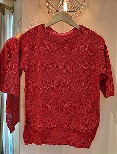Blusa Tricô Célia Vermelha