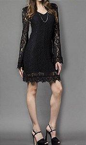 Vestido Renda - Absolutti 6049