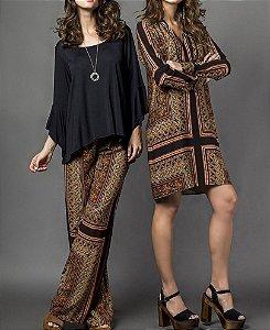 Vestido Lenço Indie - Absolutti