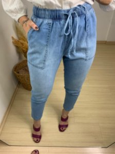 Calça Jogging Denim Lenir