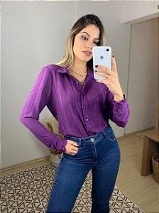 Camisa Flávia Roxa