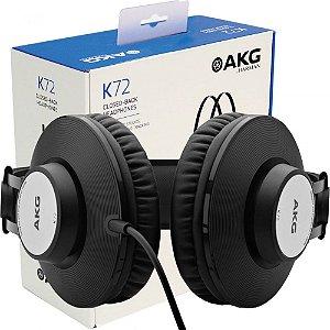Headphone Akg K72 Estúdio
