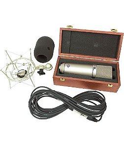 Microfone Condensador Neumann U87 Ai Profissional P/ Estúdio