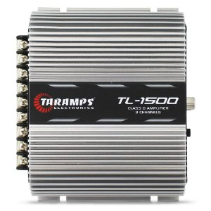 Modulo Amplificador Taramps 390 Rms TL-1500 Mono Stereo Digital 3 Canais 2 Ohms Classe D Fio Bass Boost Remoto