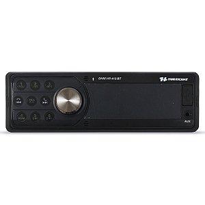 Mp3 Player Automotivo Hurricane HR-412 BT Bluetooth Usb Aux Rádio Fm Microfone